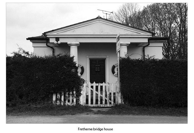 Fretherne bridge house