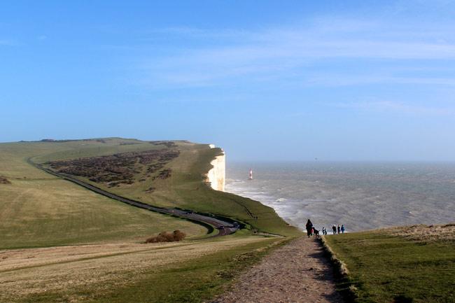 The path to Beachy Head