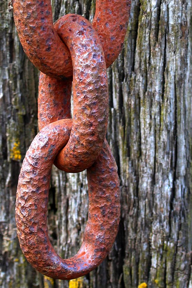 Tiller chain, Purton Hulks